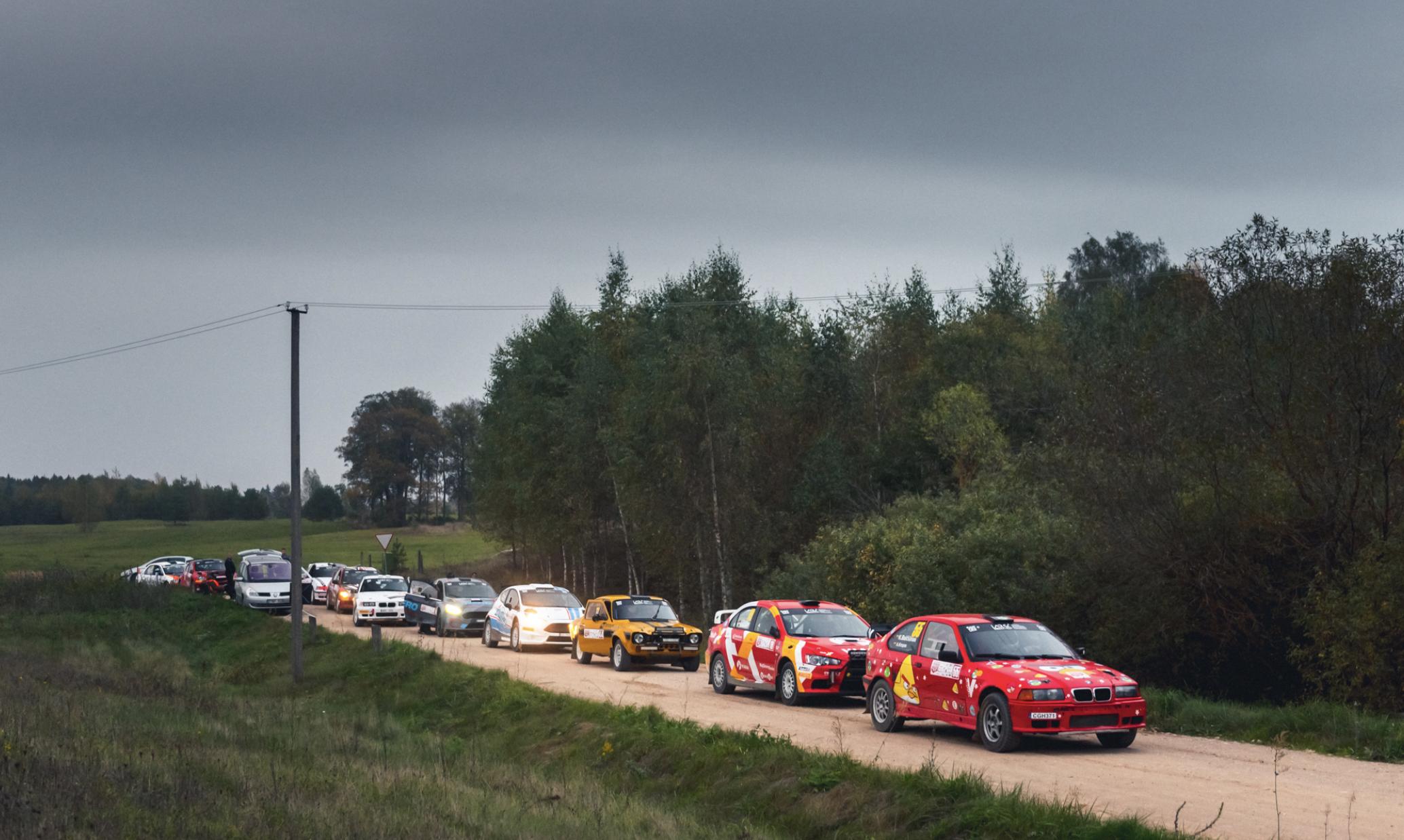"""Rally Aukštaitija 2021"" will tittle rally champions"