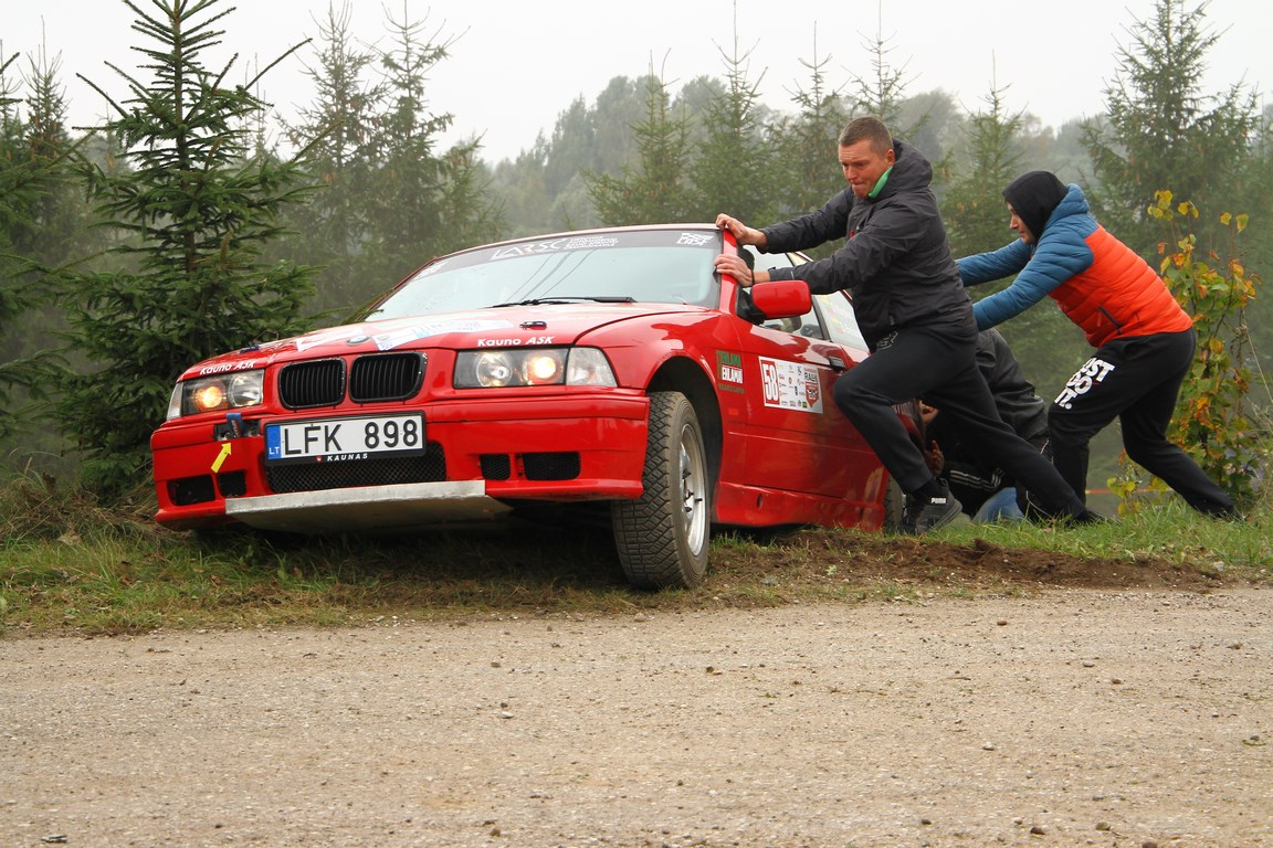 """More than 100 competitors from six countries on entry list of """"Rally Aukštaitija"""""""